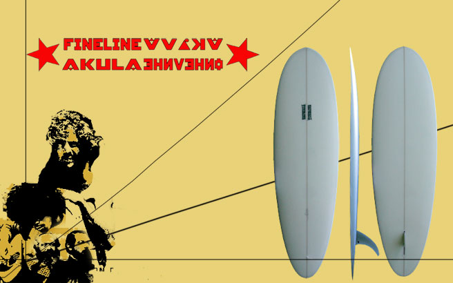 Fineline Surfboards Akula