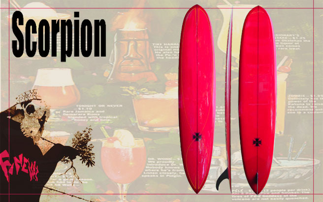 fineline surfboards scorpion